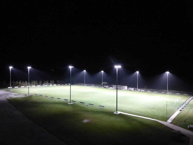 Floodlights now set!
